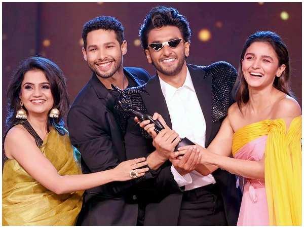 Image result for 65th Amazon Filmfare Awards 2020: Ranveer Singh's