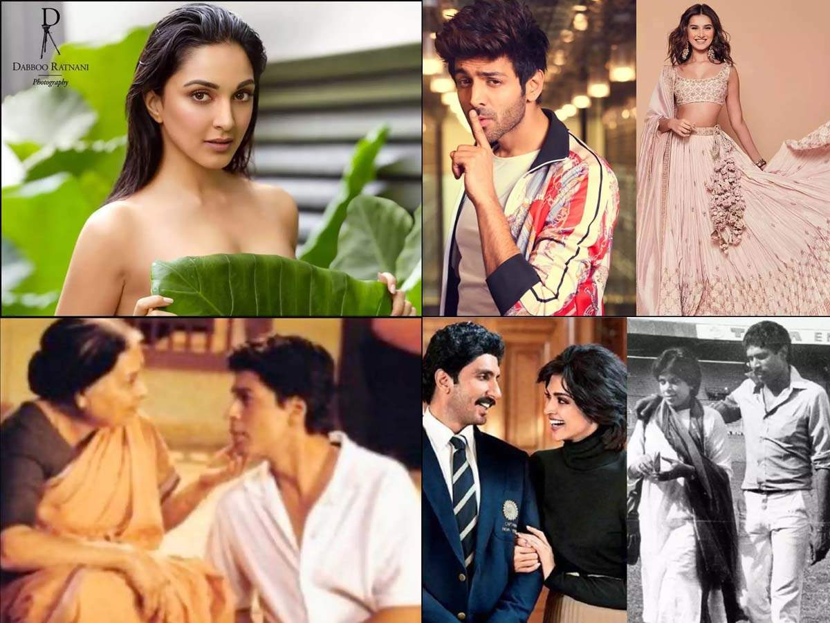 Снимок топлесс Киары запускает мем-фест », Картику нравится проводить время с Тарой, Дипикой, впервые выглядящей как Роми Дев, SRK вспоминает одну из главных ролей« Swades »  Хинди Новости Кино