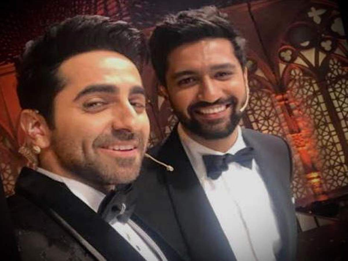 Don't miss Ayushmann Khurrana and Vicky Kaushal's bromance ahead of their movie releases! thumbnail