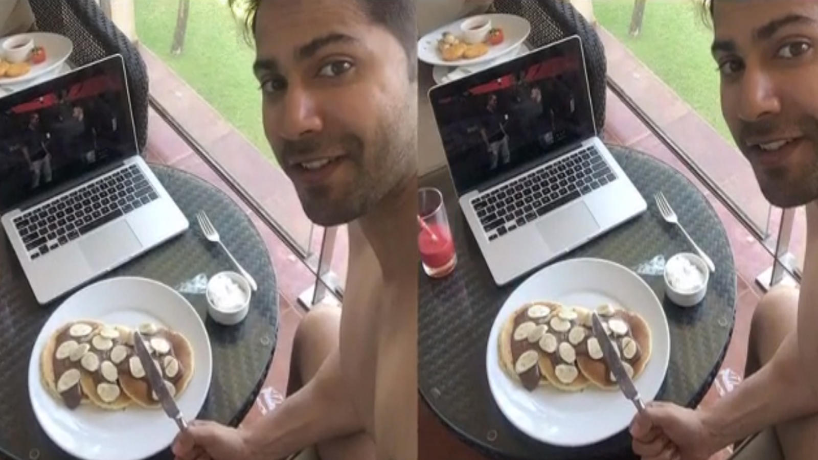 varun-dhawan-celebrates-coolie-no-1-wrap-with-pancakes-shares-pictures