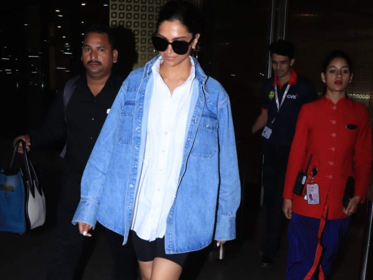 Deepika defines casual-chic in this pic