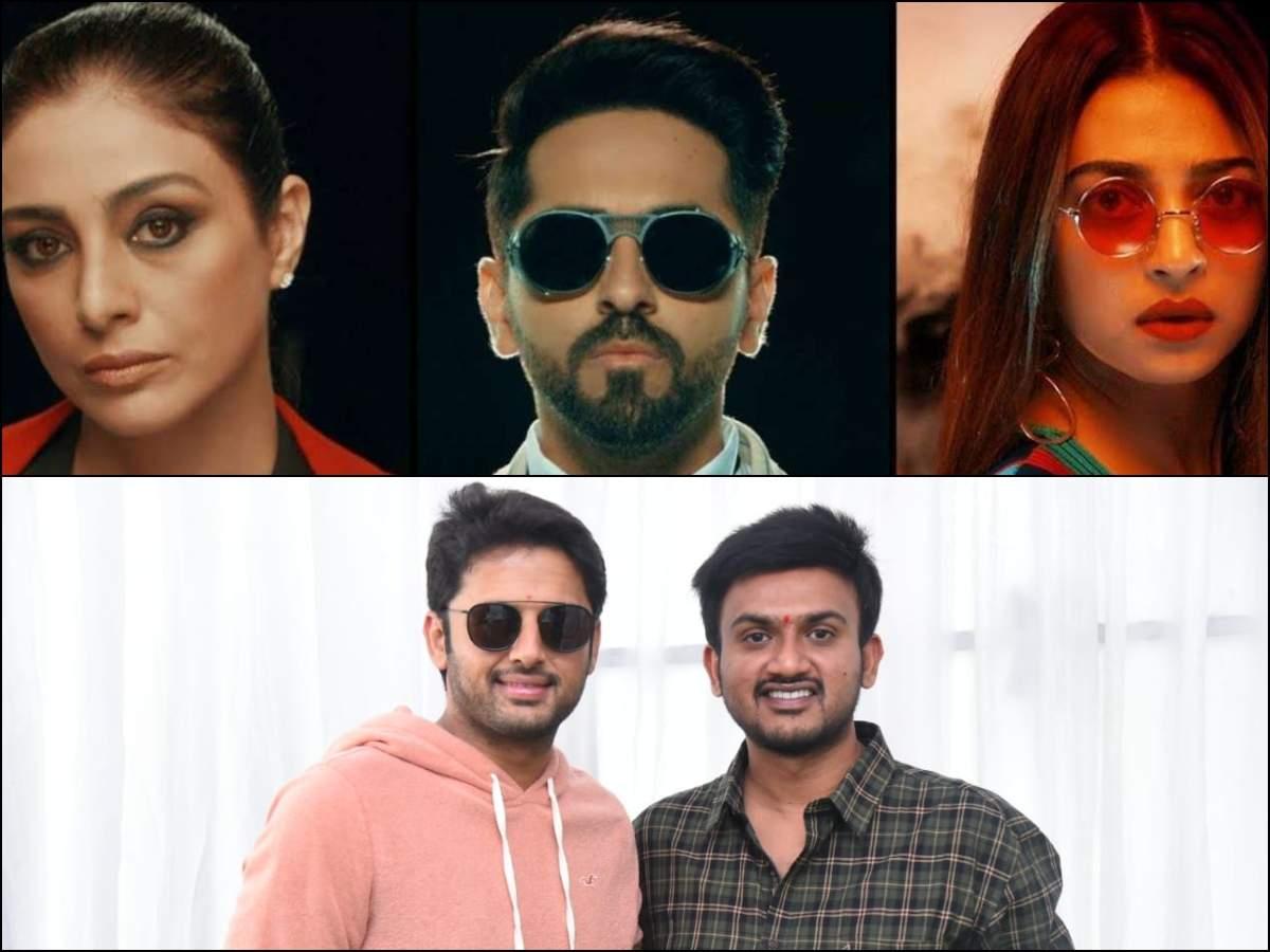 Andhadhun Telugu Remake Launched Nithiin Teams Up With Merlapaka Gandhi Telugu Movie News Times Of India