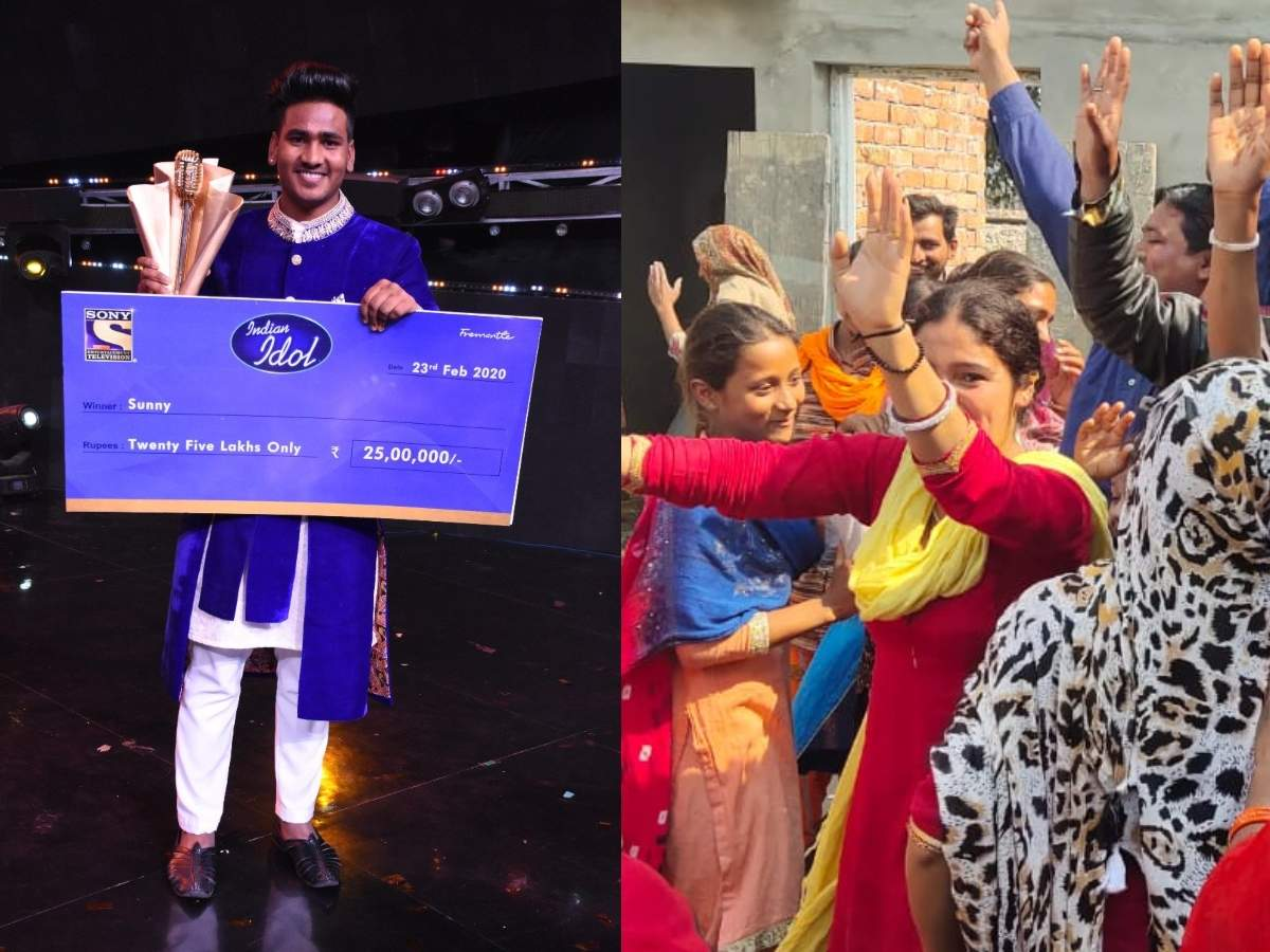 Bathinda rejoices Sunny winning singing reality show Indian Idol 11 thumbnail