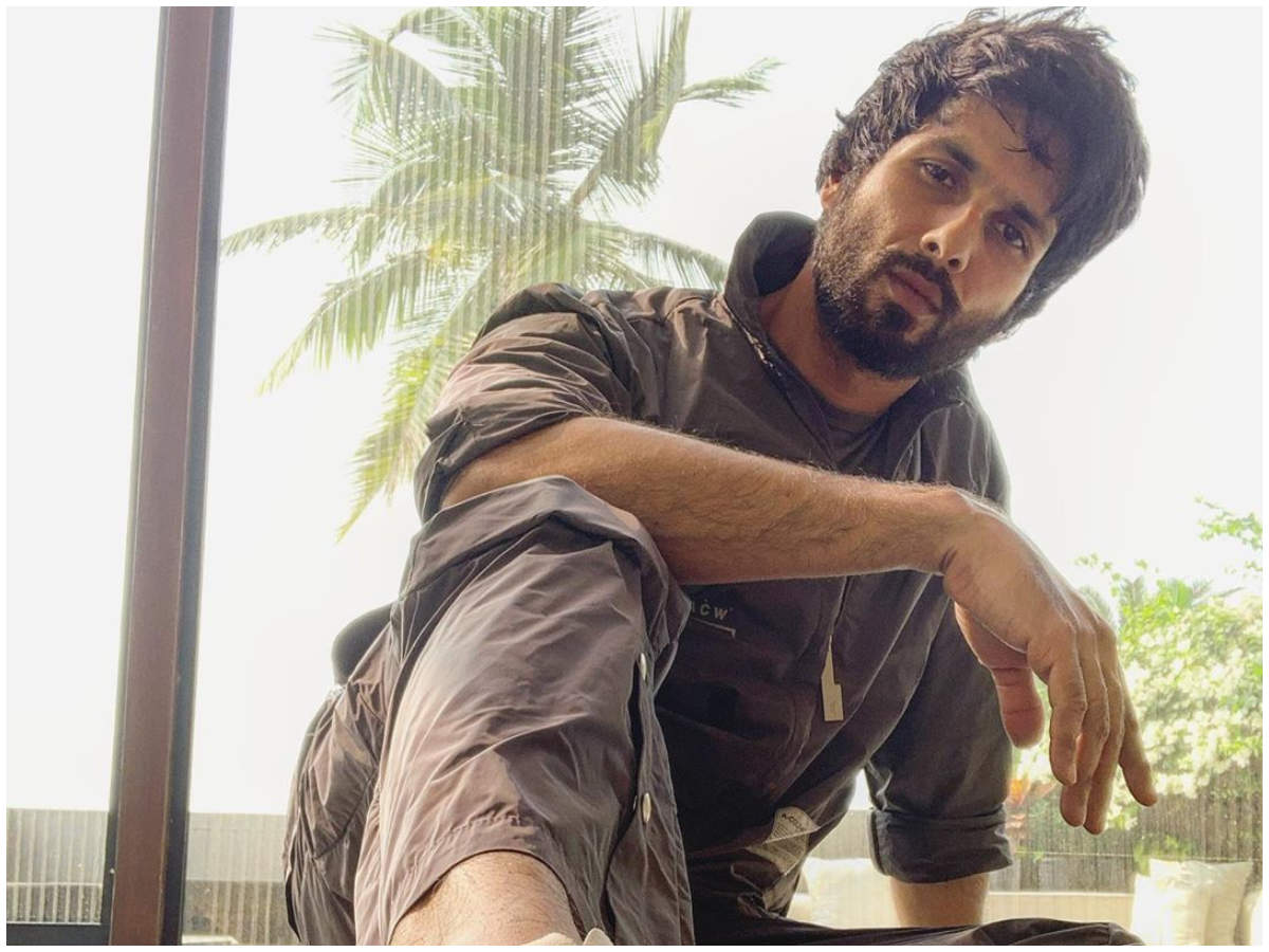 Shahid Kapoor opens up on 'Jersey' and the success of 'Kabir Singh' – Times of India