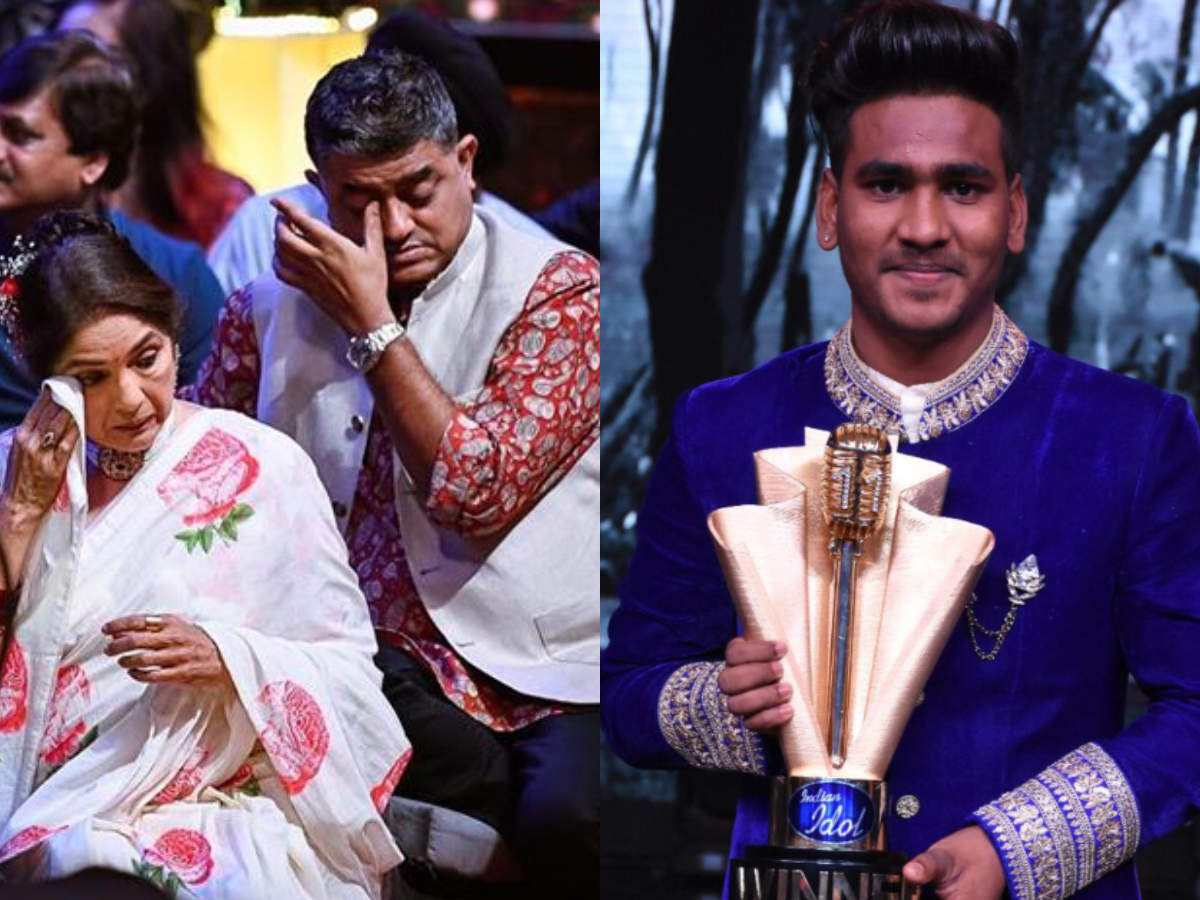 Bollywood actor Gajraj Rao gets emotional as shoe shiner Sunny Hindustani lifts Indian Idol 11 trophy thumbnail