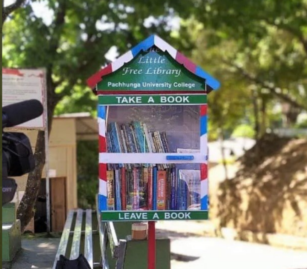 Aizawl: This new mini roadside library is winning hearts with its exchange programme