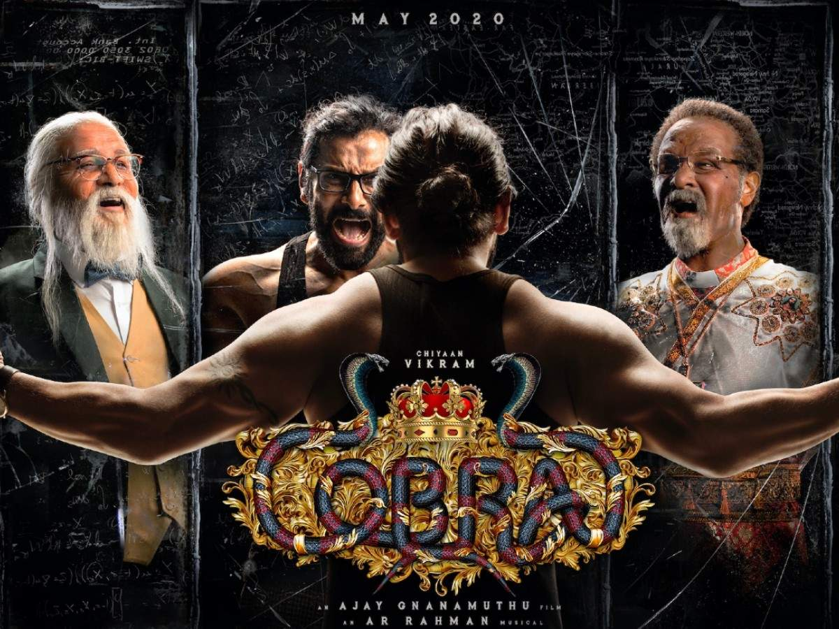 'Cobra' First Look: Vikram stuns fans with his exceptional looks