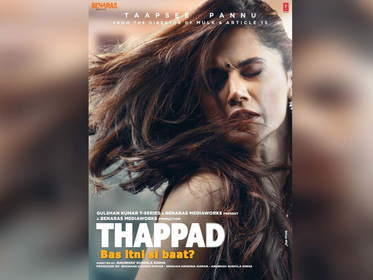 Box Office report: The Taapsee Pannu starrer 'Thappad' fails to pull the audience to the theatres; collects Rs 3 crore on its first day!