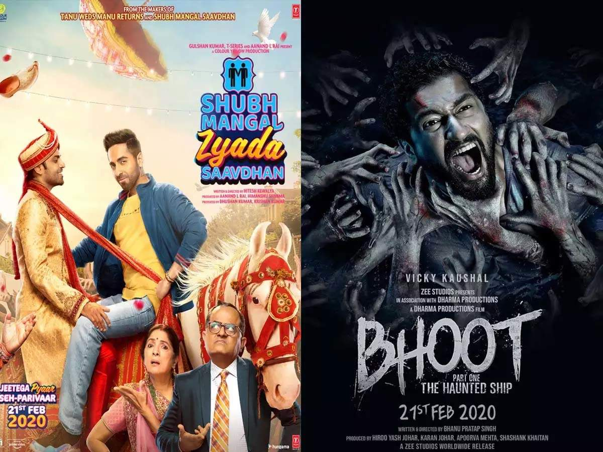 Ayushmann Khurrana's 'Shubh Mangal Zyada Saavdhan' VS Vicky Kaushal's 'Bhoot: The Haunted Ship': Which film scored better on its second Friday at the box office?