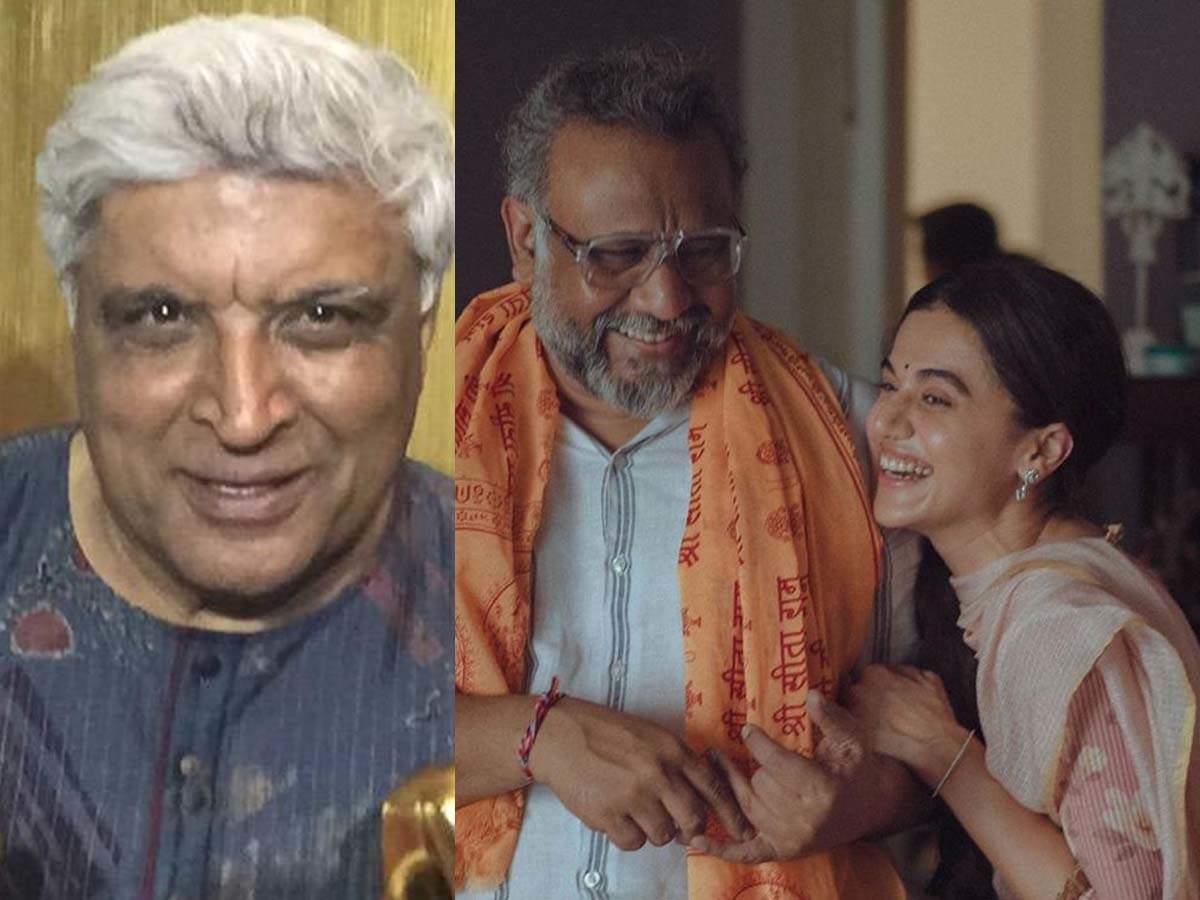 Джавед Ахтар хвалит «Таппада» Таапси Панну; актриса говорит «момент для нас с микрофоном», а Анубхав Синха отвечает: «Я ухожу» | Хинди Новости Кино