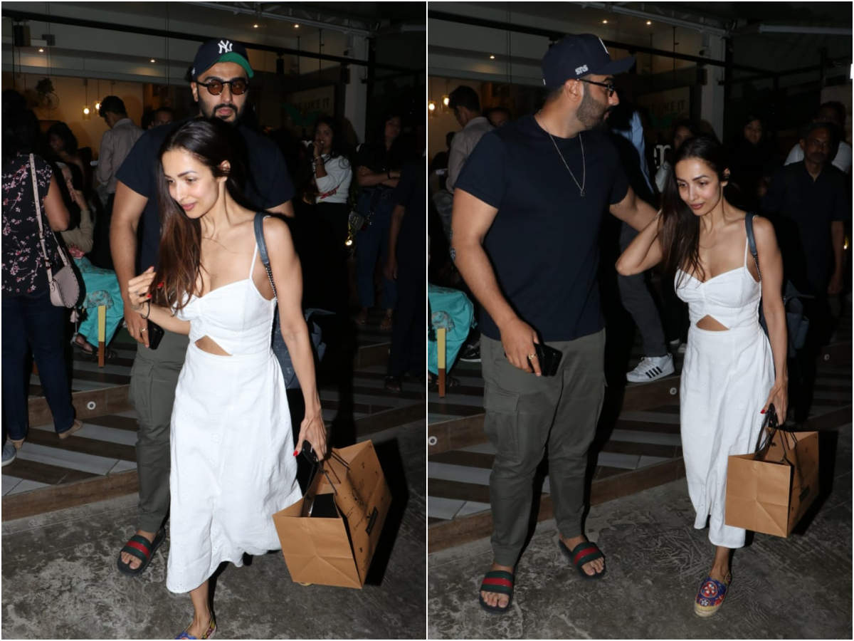 Photos: Lovebirds Malaika Arora and Arjun Kapoor step out for a romantic dinner date thumbnail
