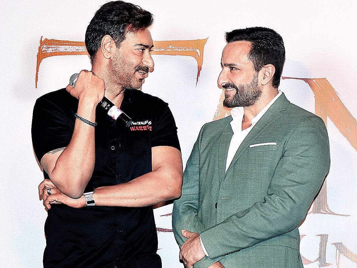 Ajay Devgn rubbishes all reports of having a feud with 'Tanhaji: The Unsung Warrior' co-star Saif Ali Kha thumbnail