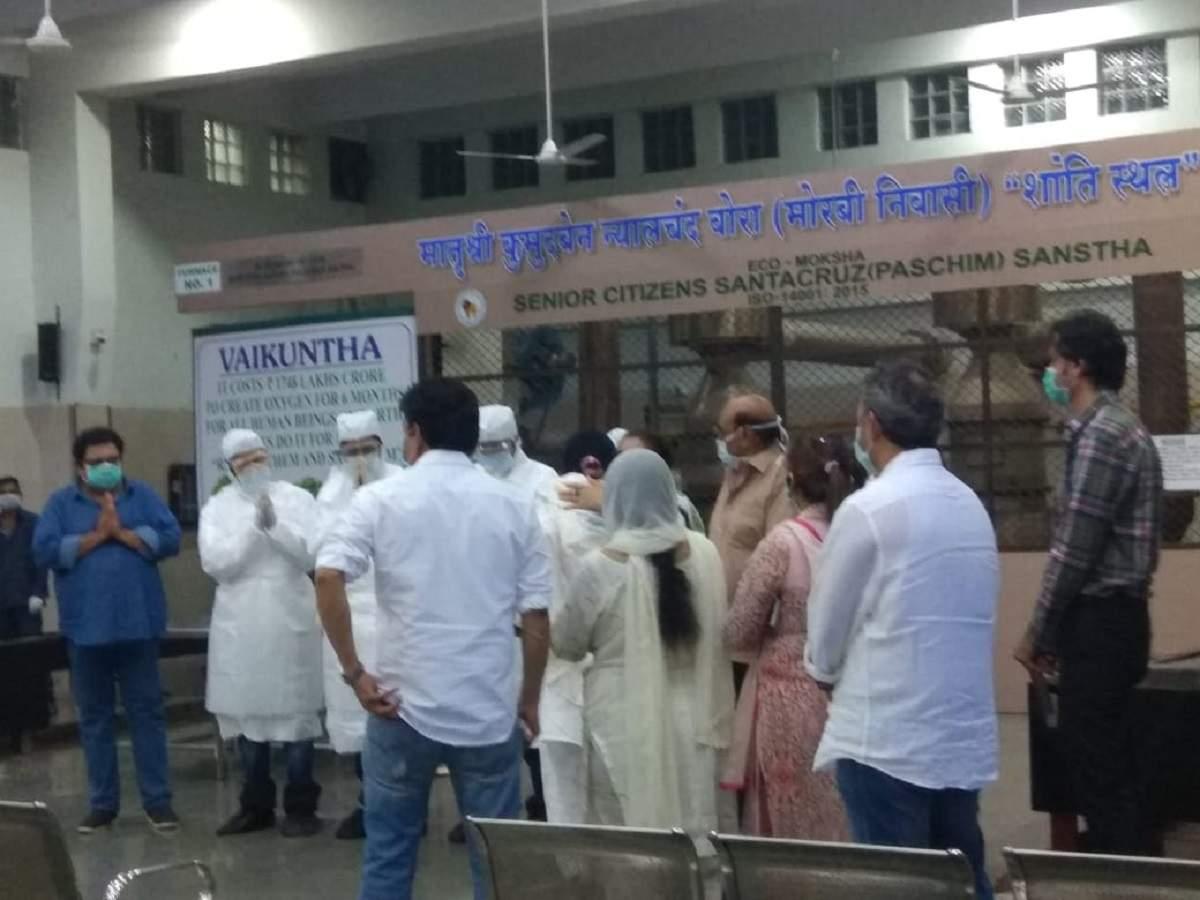 Mumbai Coronavirus News Coronavirus Proof Funeral For Mumbai Woman Who Died In China Mumbai News Times Of India