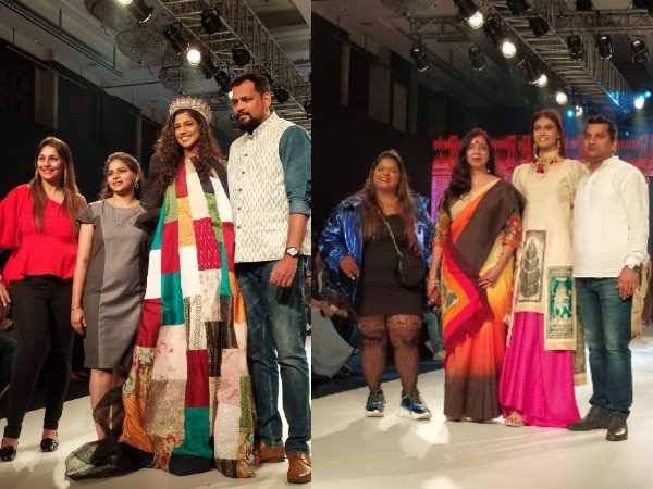 Btfw 2020 On Day 3 Design Students Of Aditya College Showcased Unity In Diversity Through Fashion Events Movie News Times Of India