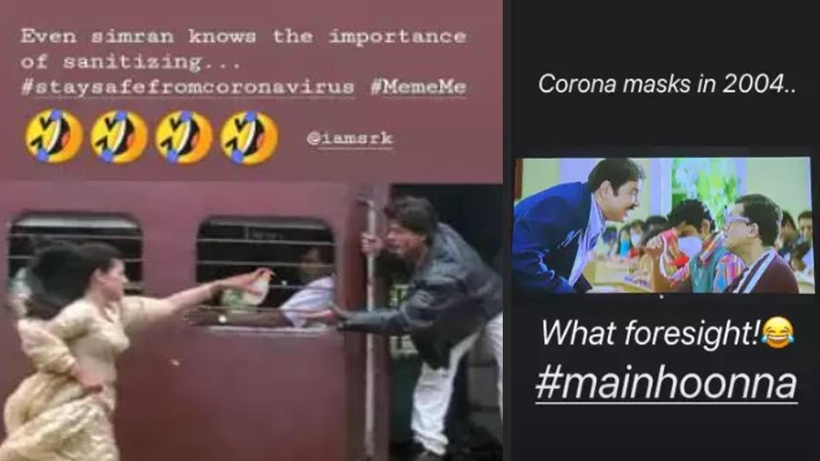 Coronavirus Memes Coronavirus Outbreak Turns Into A Bollywood