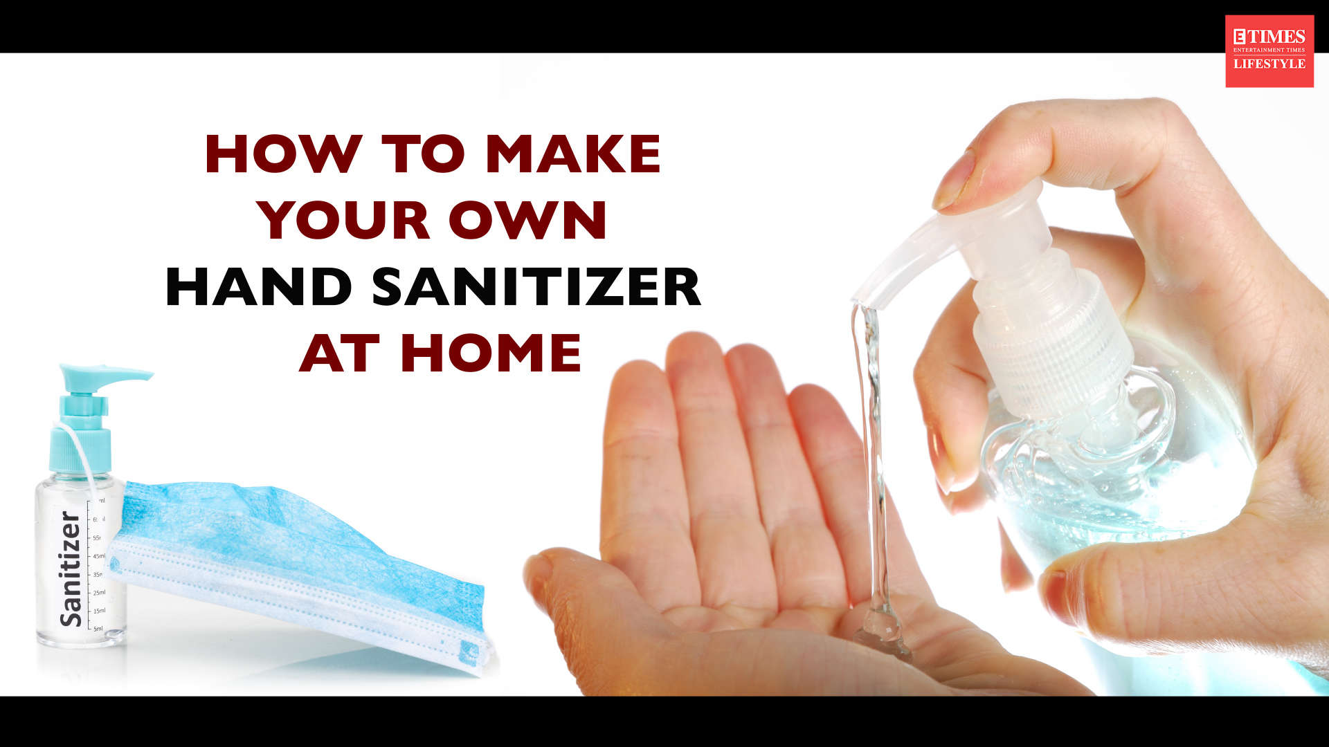 How To Make Sanitizer At Home In Hindi Homemade Hand Sanitizer