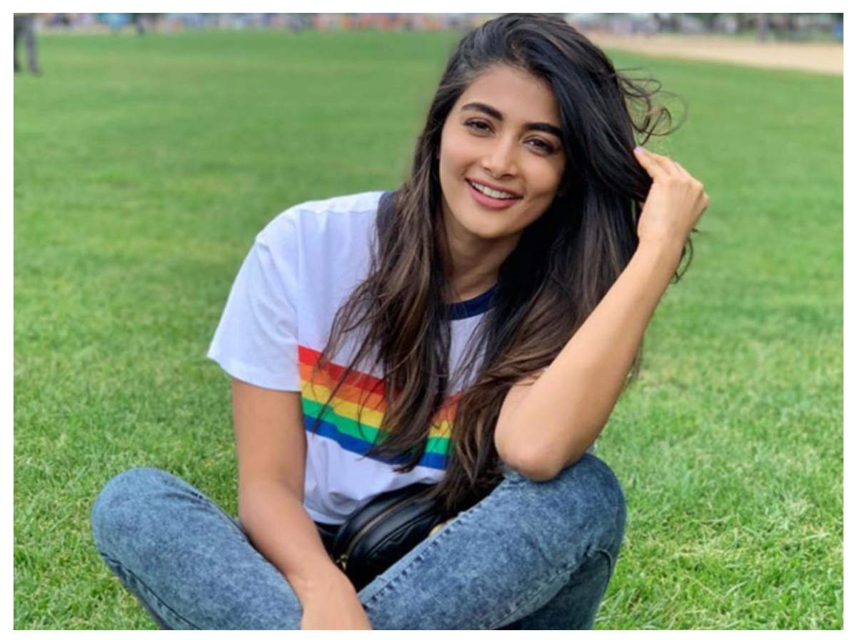 Watch: Pooja Hegde gets all goofy as she waits on the sets of her ...