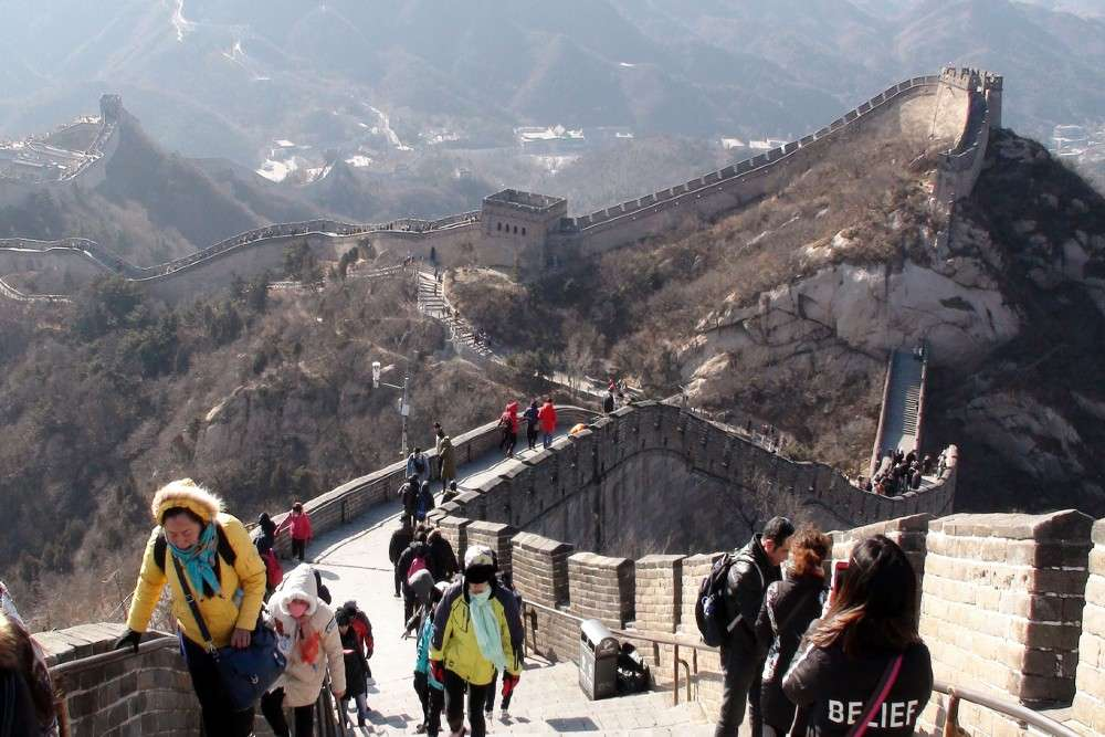 The Great Wall of China opens partly for visitors; China inching towards normalcy