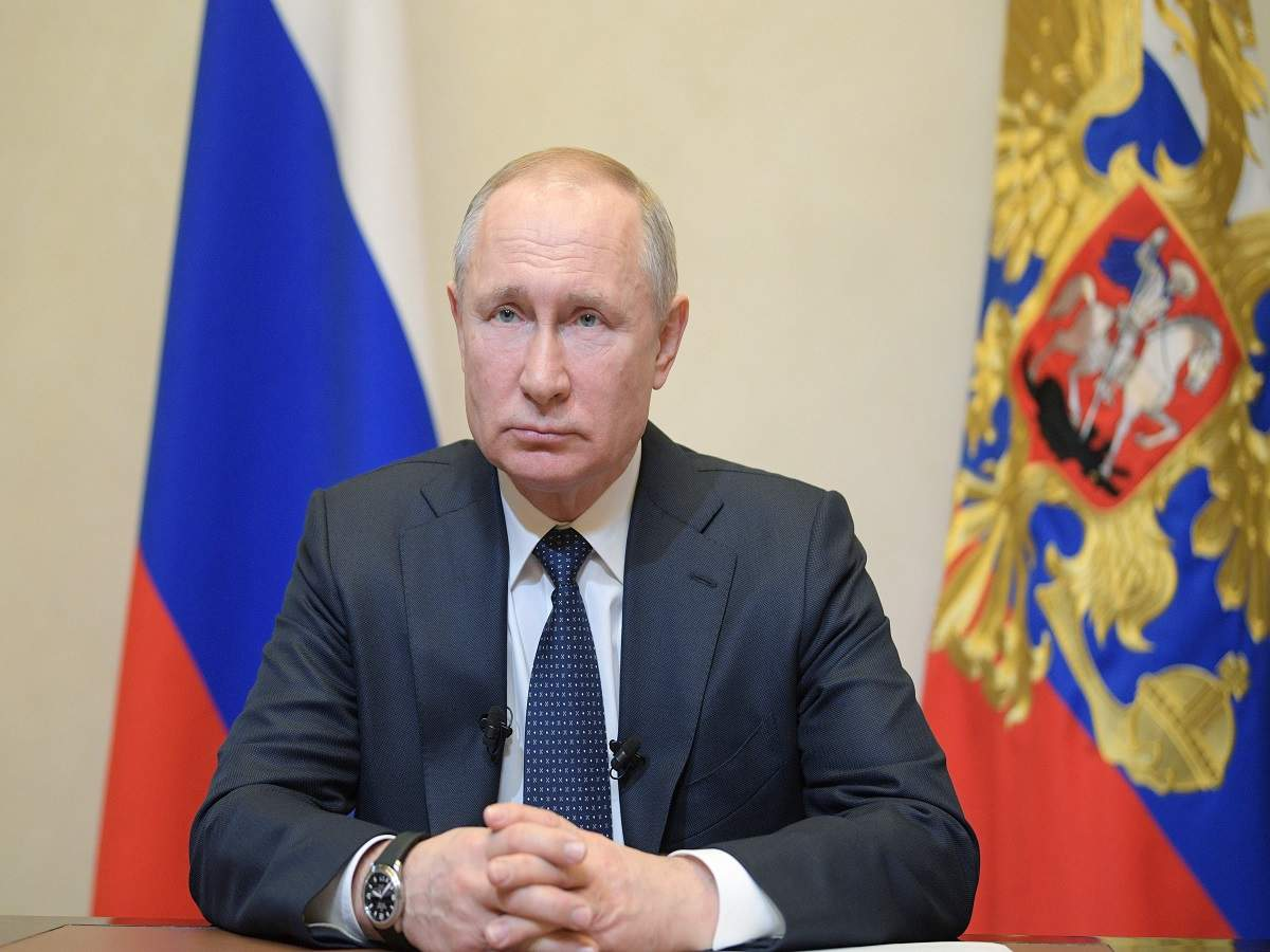 Vladimir Putin Delays Constitutional Vote Allowing Him To Keep Power Times Of India
