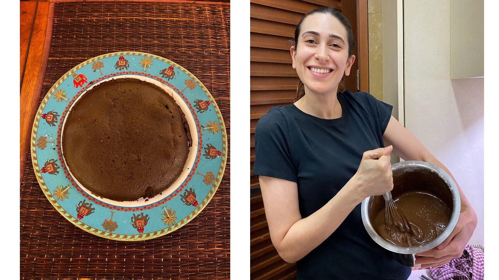 karisma-kapoor-bakes-a-delicious-chocolate-cake-for-her-family-and-staff-posts-pictures