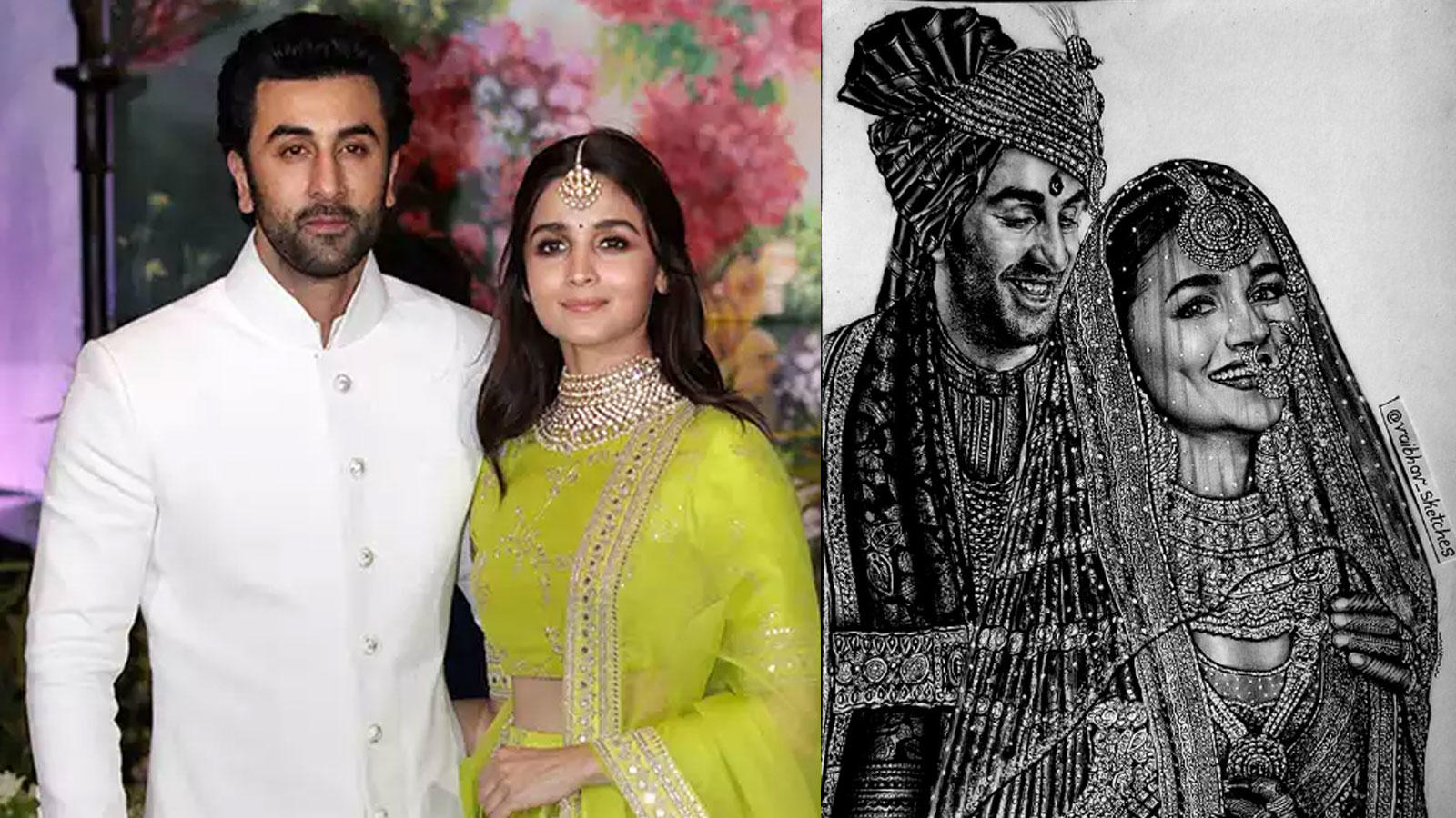 alia-bhatt-and-ranbir-kapoors-fan-makes-sketch-of-how-the-couple-would-look-like-on-their-wedding