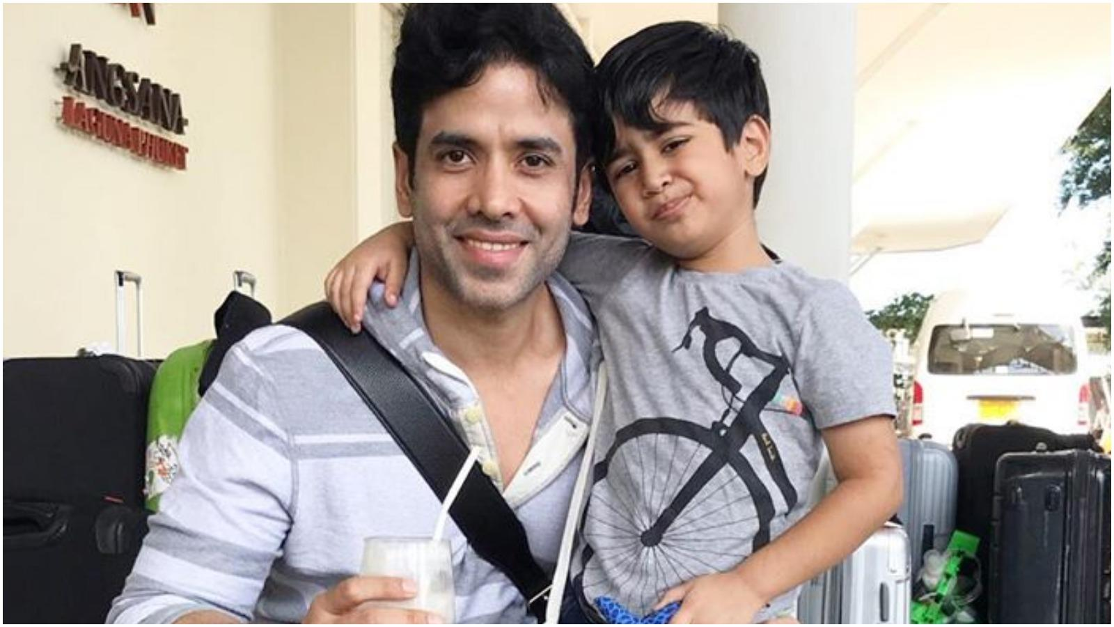 how-tusshar-keeps-his-son-engaged