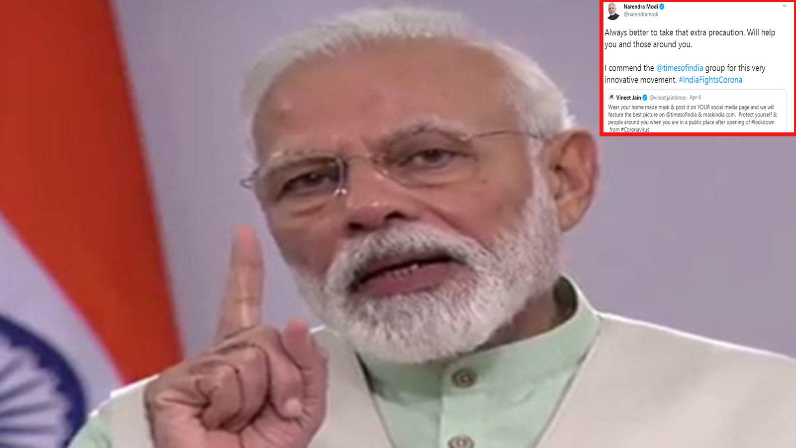 pm-modi-backs-times-group-campaign-against-covid-19