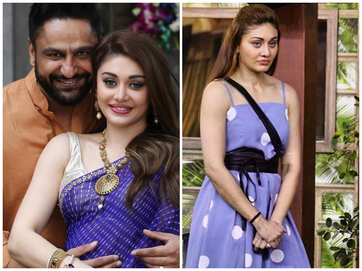 Bigg Boss 13 S Shefali Jariwala Shares A Romantic Picture With Hubby Parag Tyagi Fans Think She Is Pregnant Times Of India