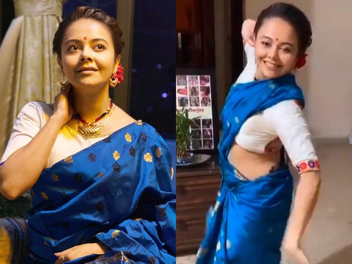 Bigg Boss 13 fame Devoleena Bhattacharjee does 'Bihu' dance, prepares  jalebis to ring in the new year - Times of India
