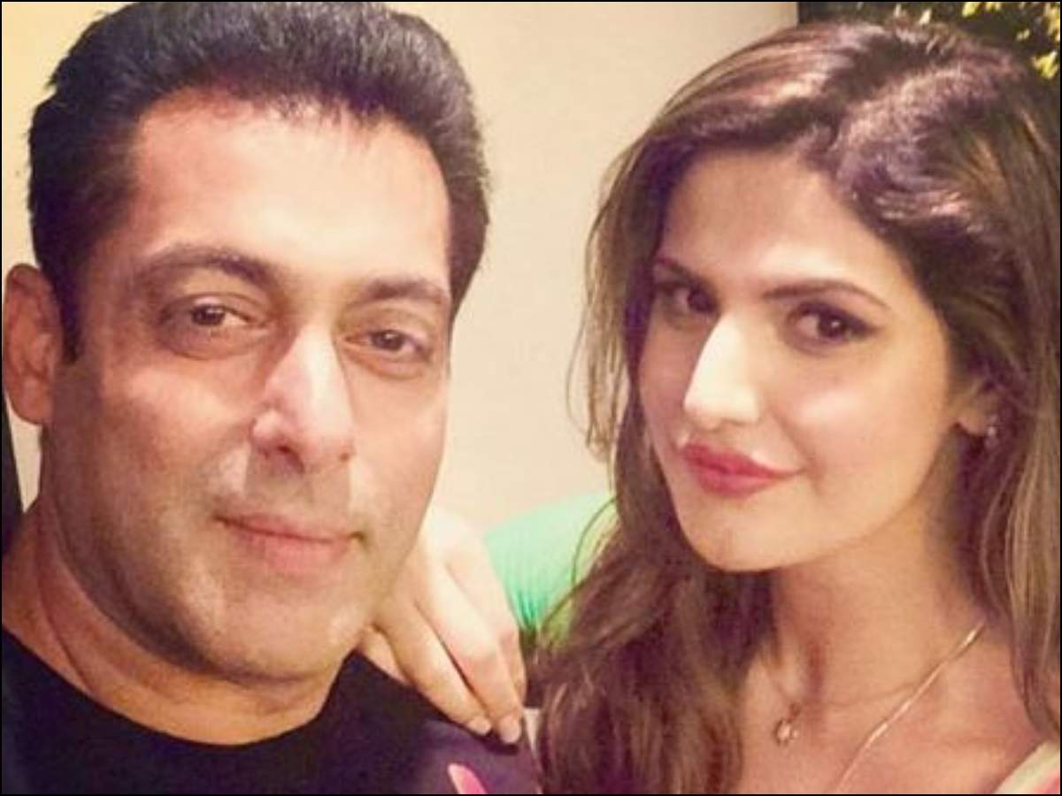 Exclusive! 'If I need any help in my life, Salman Khan is just a phone call  or message away,' says Zareen Khan | Hindi Movie News - Times of India
