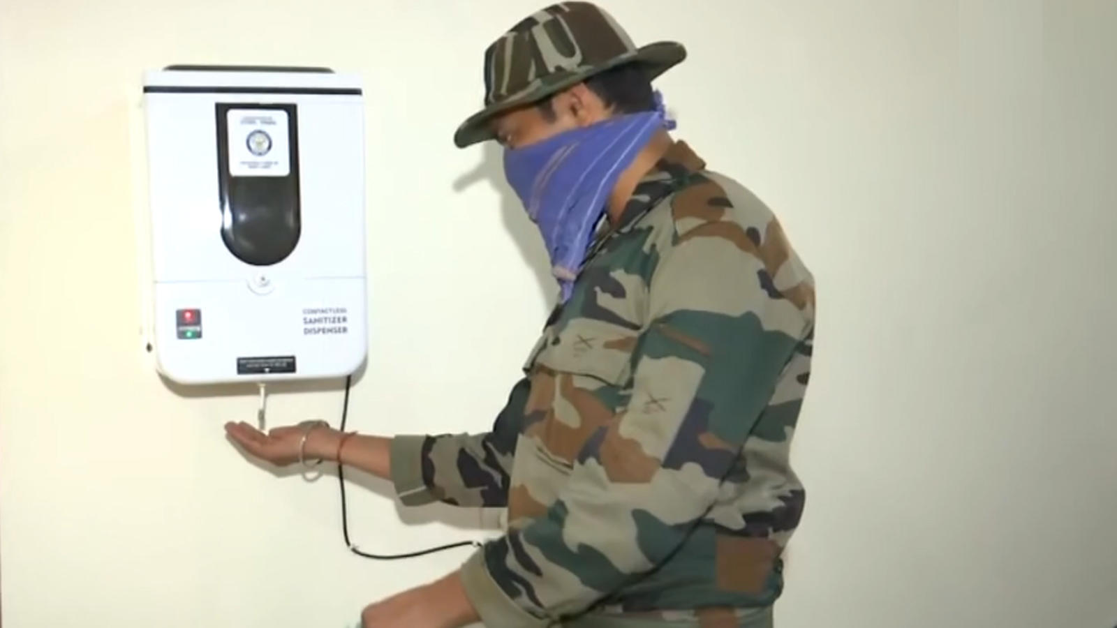 Covid 19 Drdo Develops Contactless Sanitizer Dispenser To Reduce Human Touch News Times Of India Videos