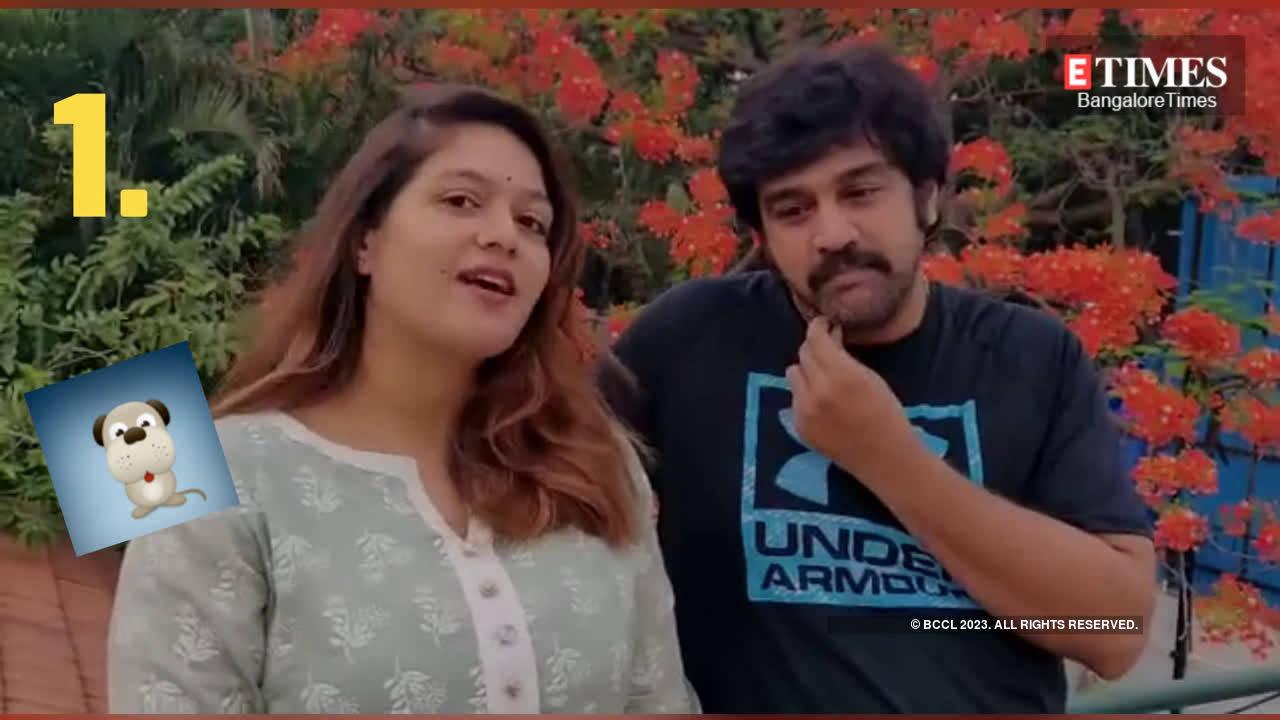 Meghana Raj And Chiranjeevi Sarja Talk About Spending Time During Lockdown Kannada Movie News Times Of India