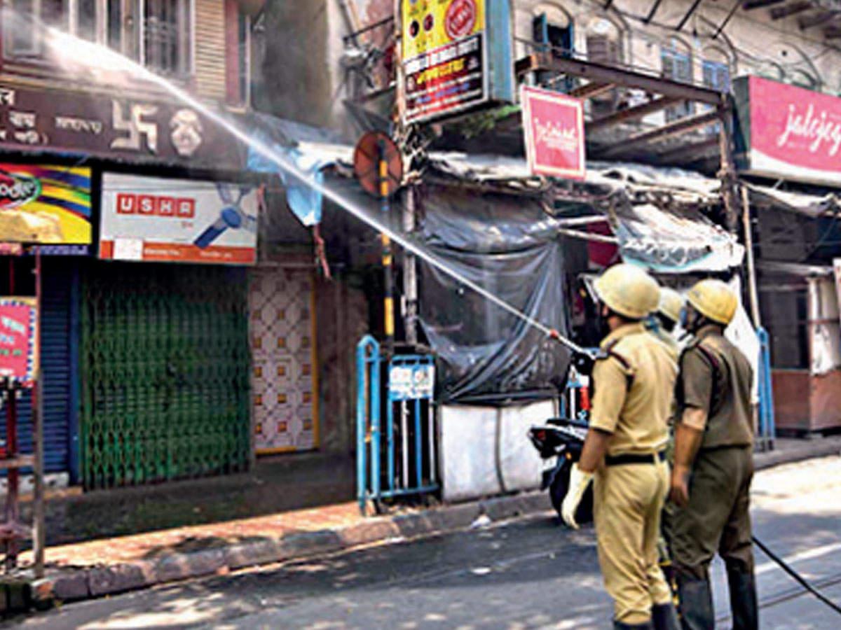 Kolkata: Burrabazar garments hub new problem point | Kolkata News ...