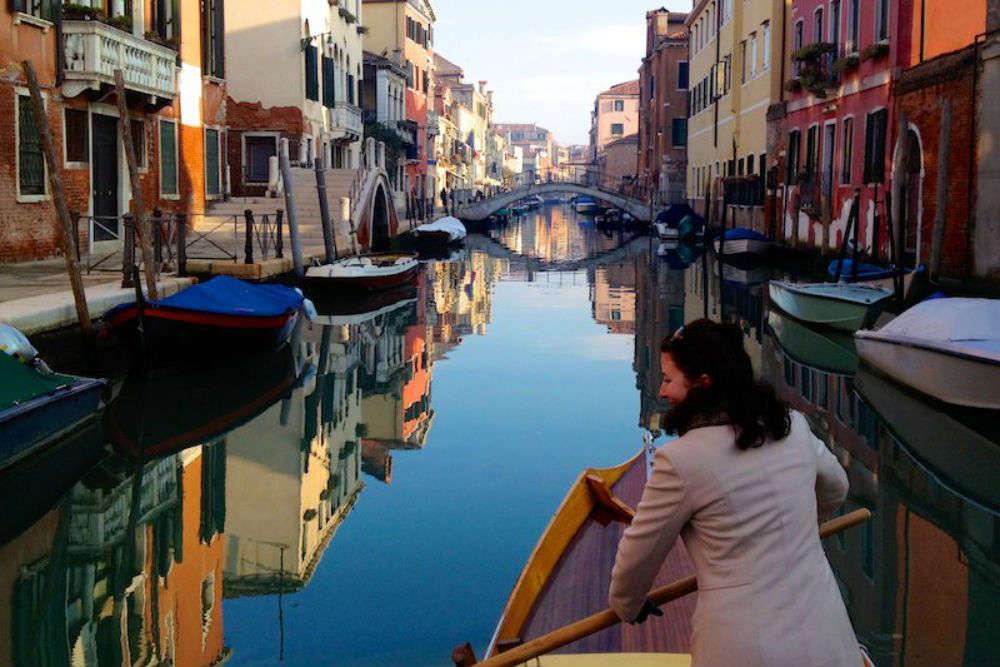 Gondolas of hope: Women in Venice are delivering essentials on gondolas to elderly