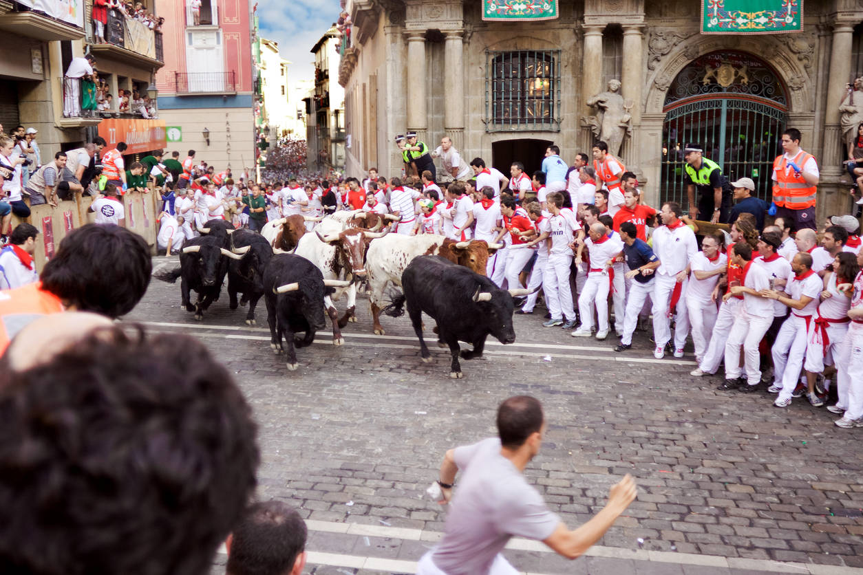 No bull running event in Spain this year