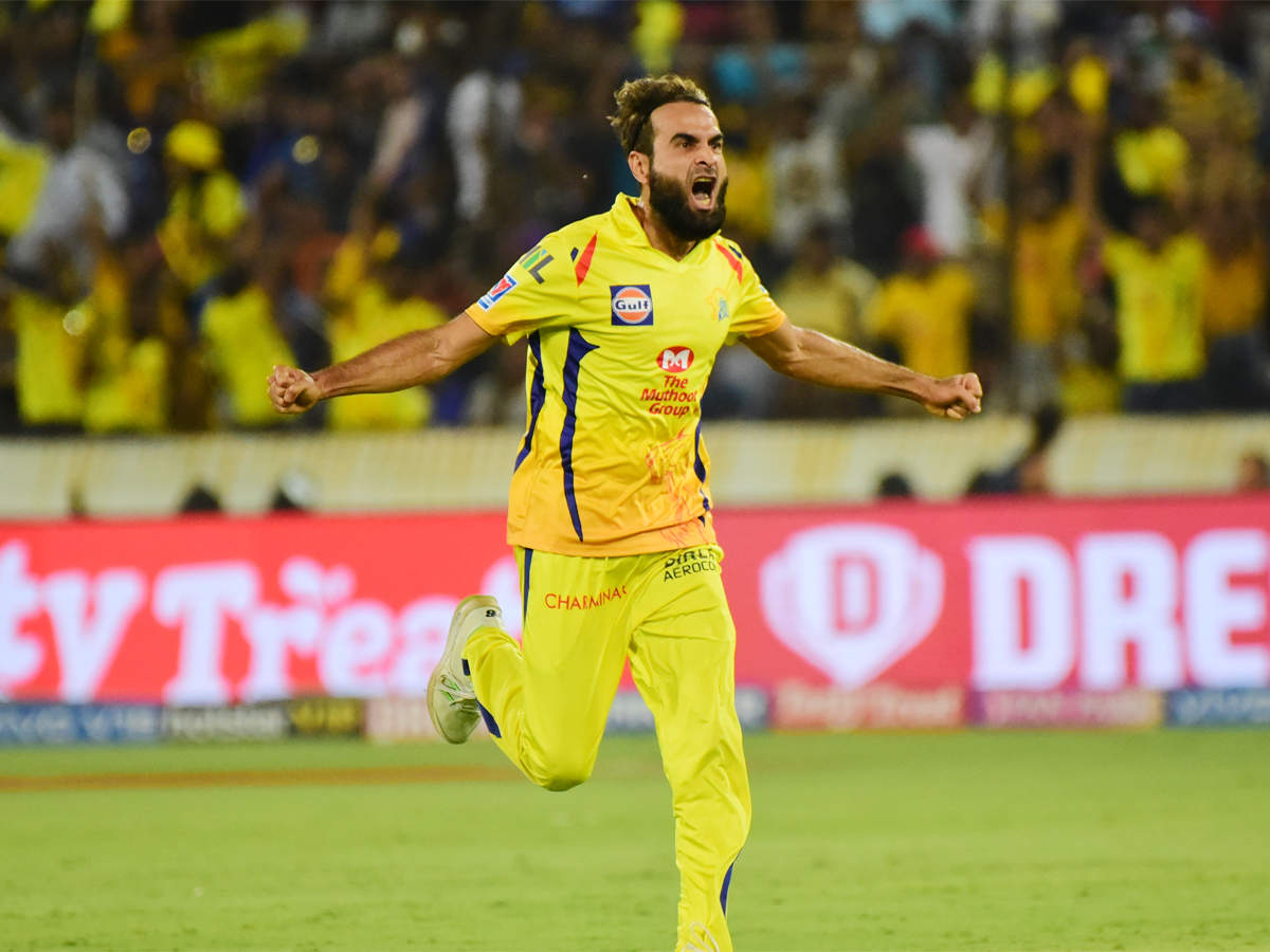 Every game I played for CSK gave me goosebumps: Imran Tahir | Cricket News  - Times of India