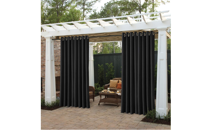 Outdoor Curtains For Balconies, What Is The Best Material For Outdoor Curtains