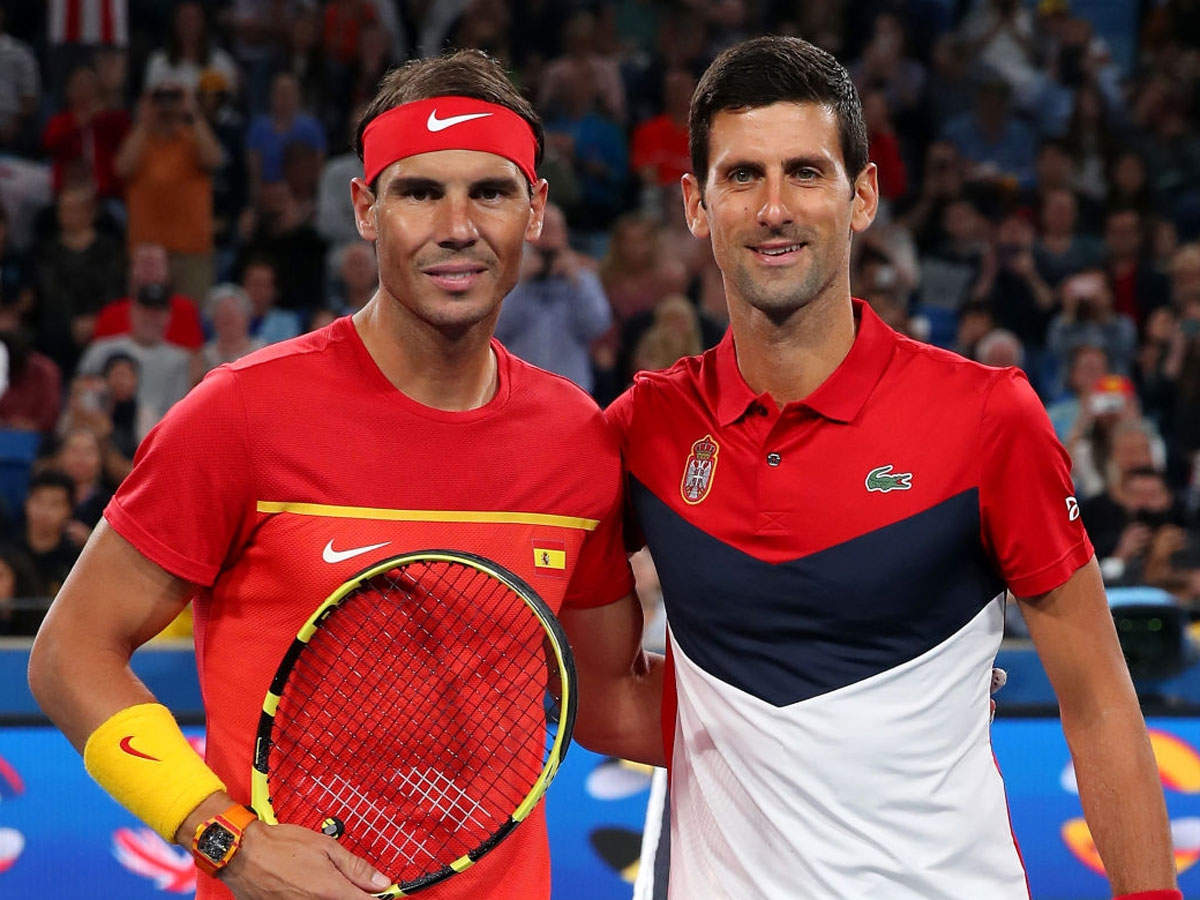 Novak Djokovic Will Need Vaccine If Required By The Tour Rafael Nadal Tennis News Times Of India