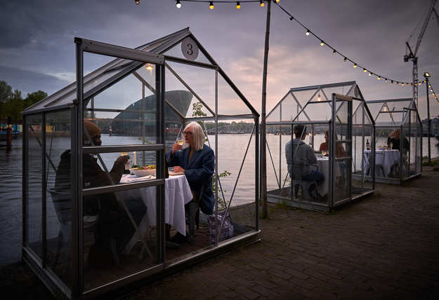 Glass cabins could be the new thing for restaurants amid Coronavirus crisis