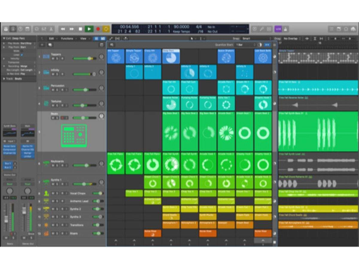 Logic Pro X Apple Launches Logic Pro X 10 5 Update Times Of India