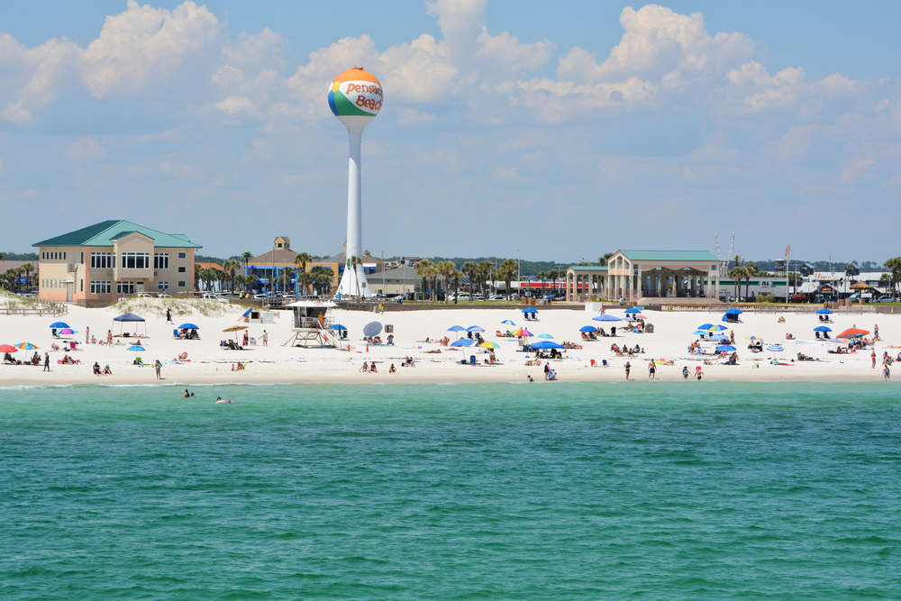 After lockdown relaxation, visitors at Florida's beaches litter 6000 kg of trash
