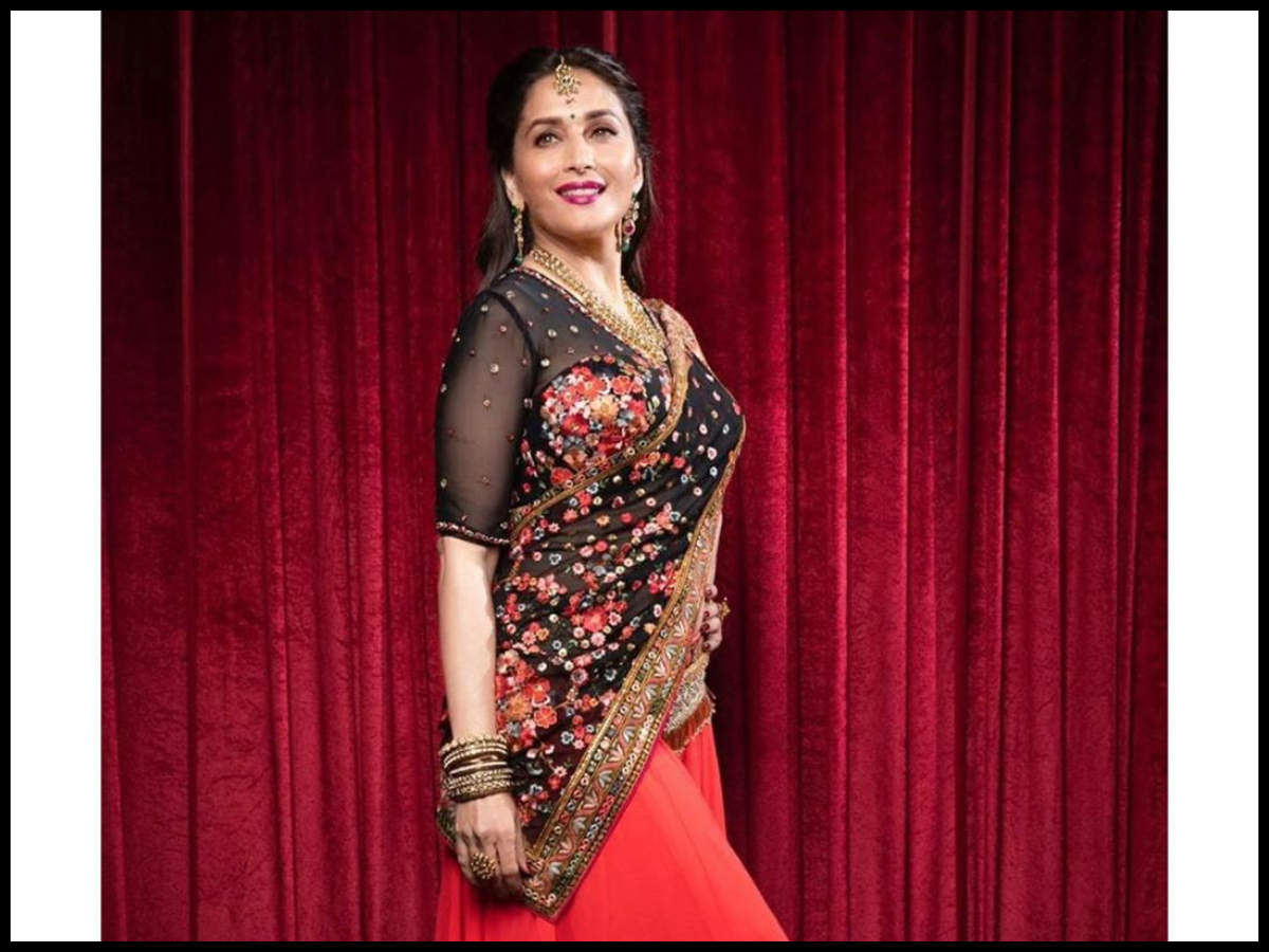 Madhuri Dixit as she thanks fans for birthday wishes 'Made my day ...