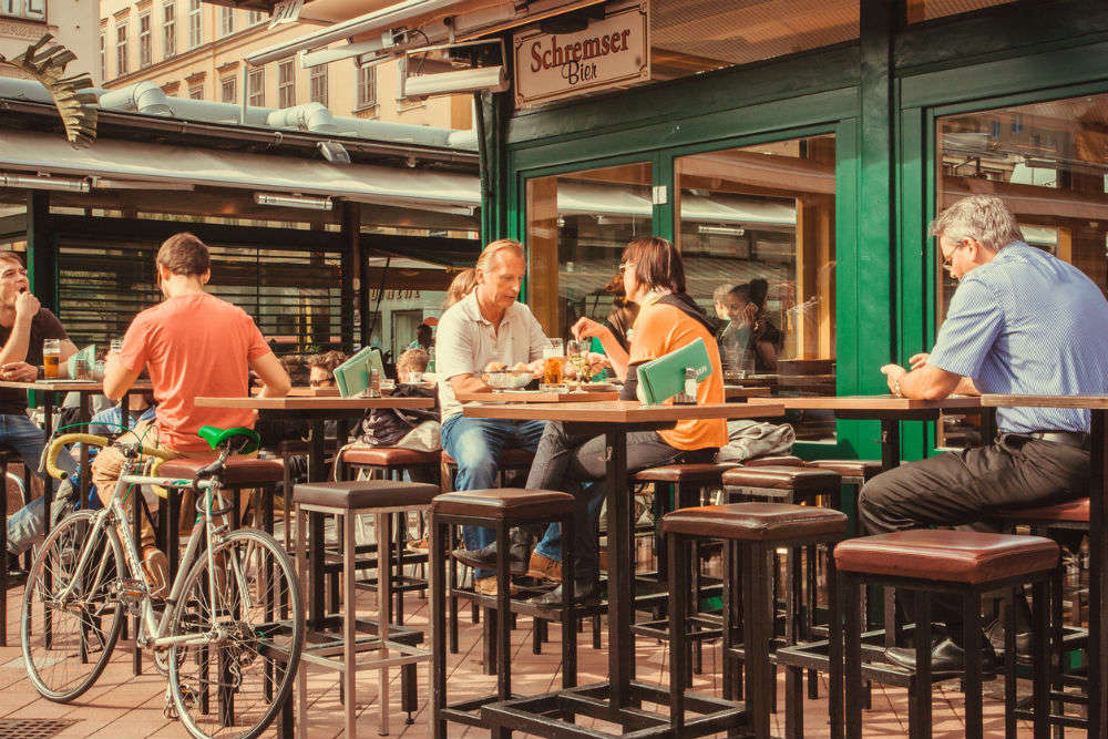 Vienna gifts residents €50 vouchers to eat outside and support local restaurants