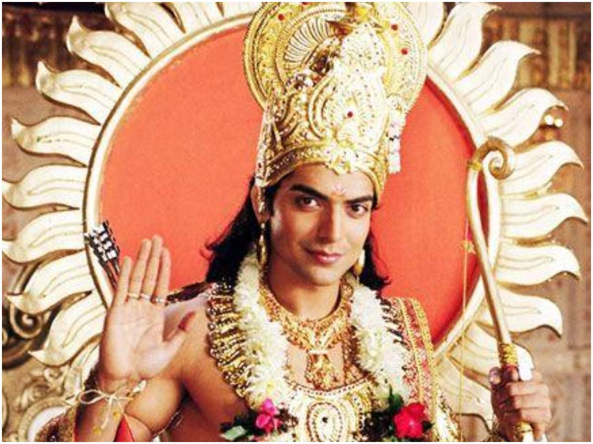 Ramayan: Did you know Gurmeet Choudhary wore a crown weighing around 3-4  kilos in the epic saga - Times of India
