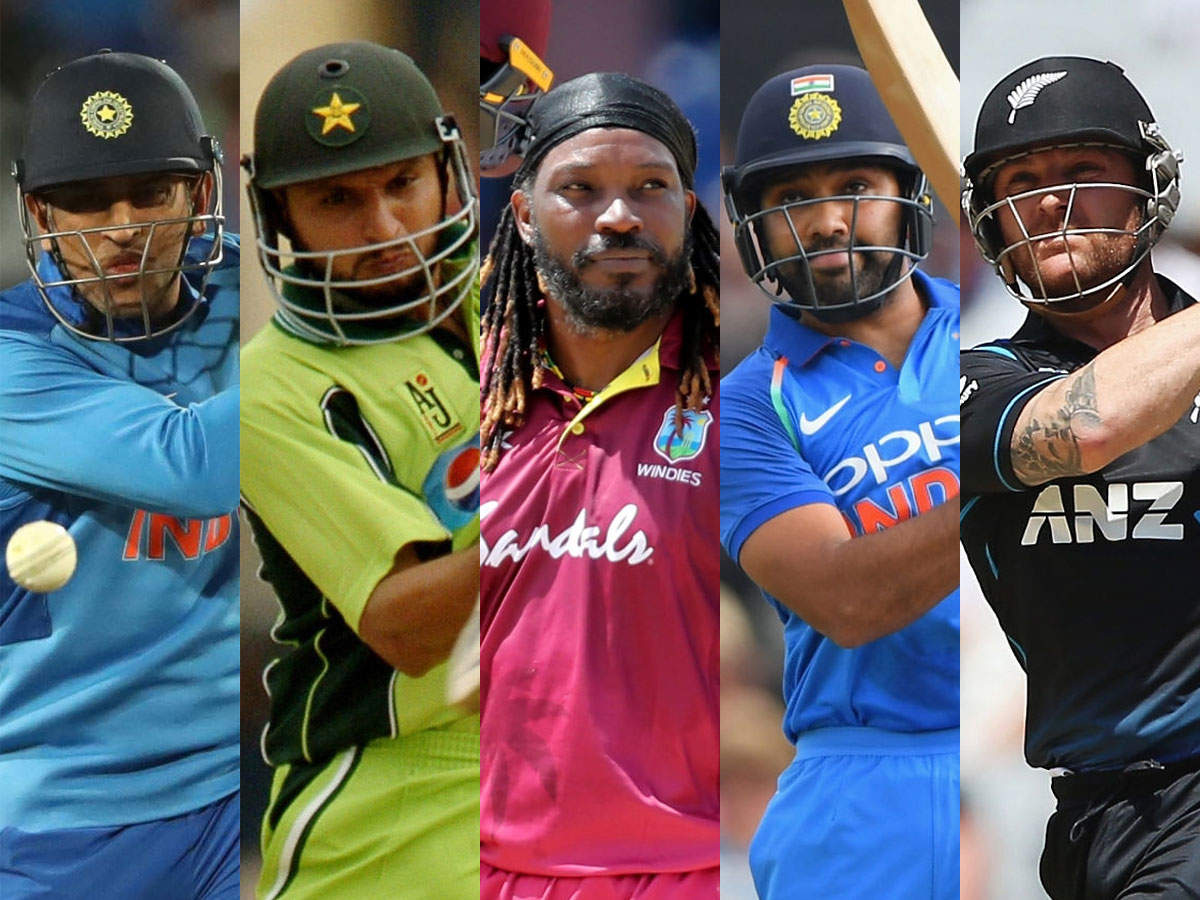 Top 5 Batsmen With Highest ODI Sixes in History: Batsmen with most sixes in  international cricket   Cricket News - Times of India