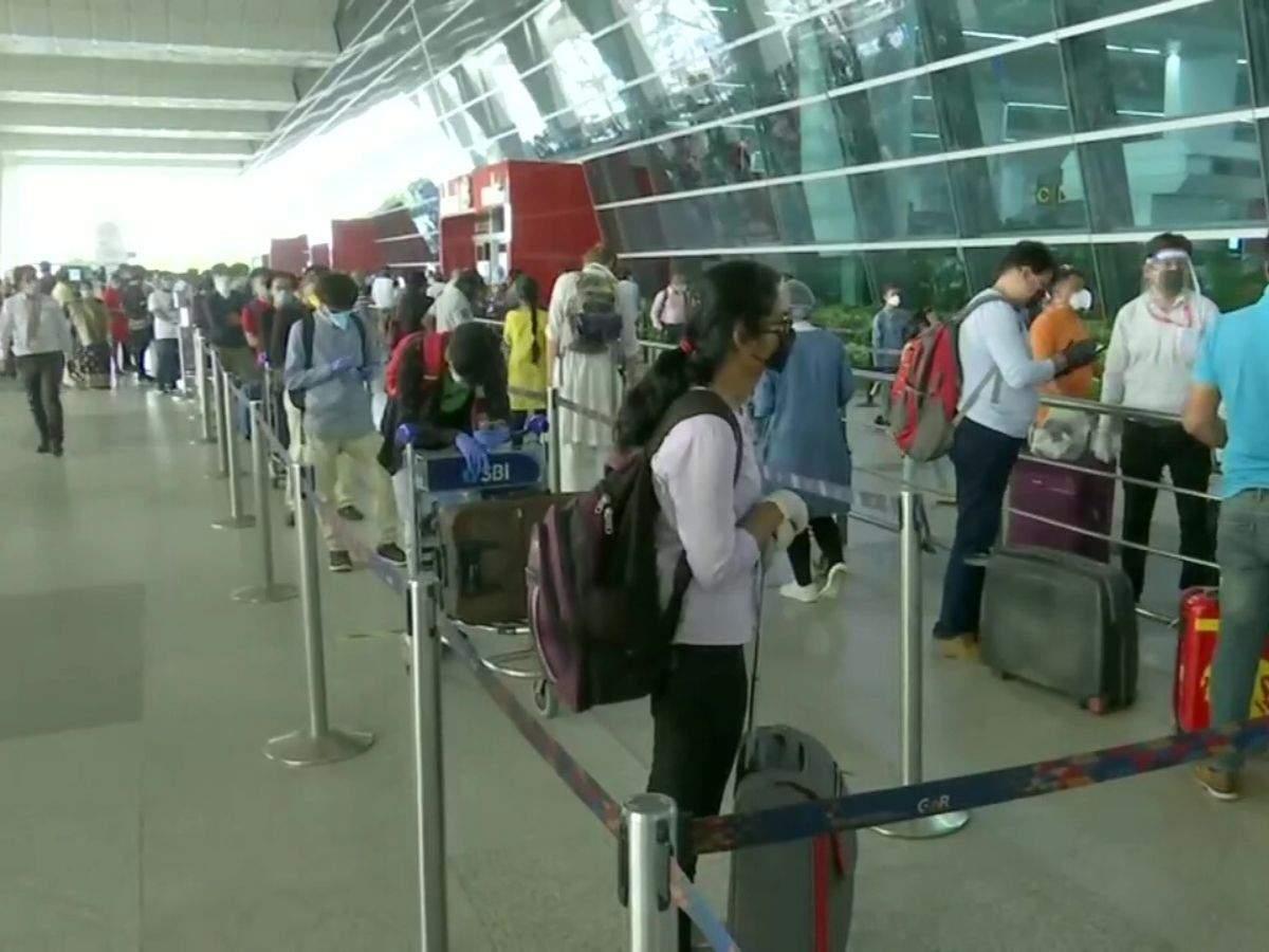 Delhi Flight News Domestic Flight Operations Resume At Delhi Airport After Two Months Of Lockdown Delhi News Times Of India