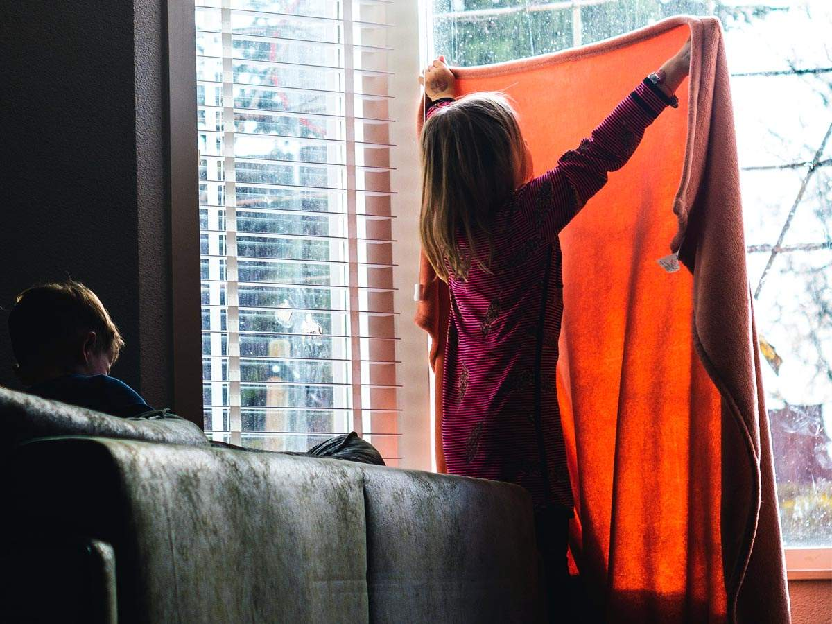 Brilliant Window Curtains For Kids That