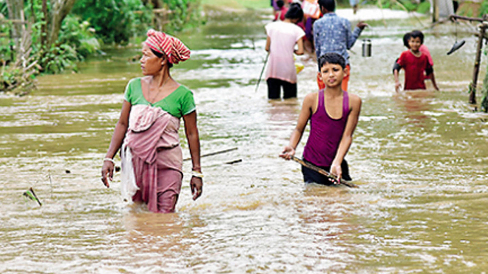assam-floods-hit-nearly-2-lakh-in-seven-districts