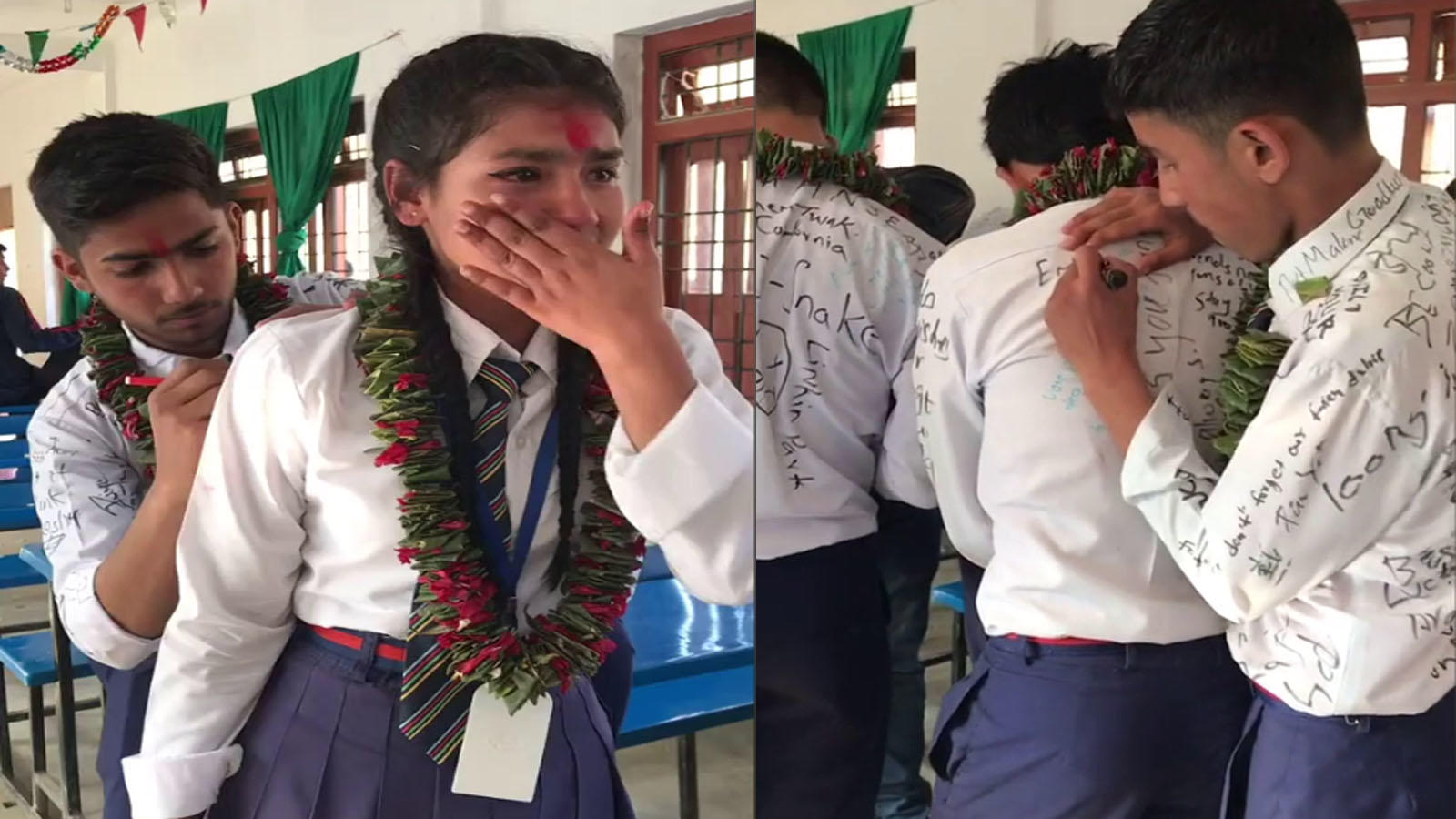 watch-an-emotional-farewell-to-friends-on-last-day-of-school