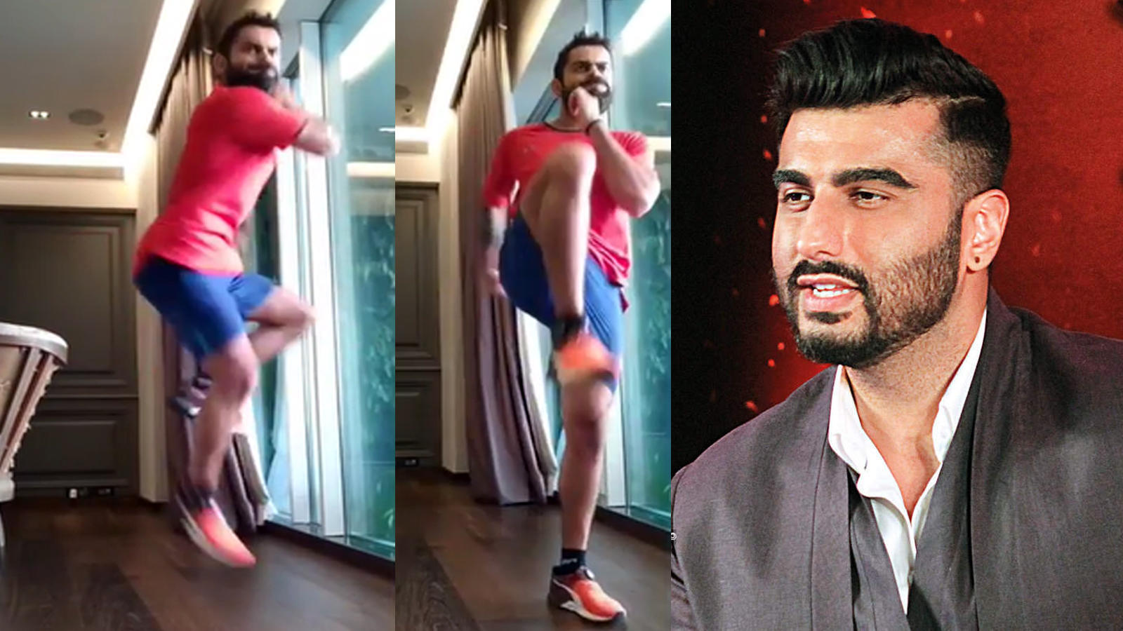arjun-kapoor-teases-virat-kohli-as-he-attempts-180-degree-landing-compares-his-workout-to-bhangra-leaving-fans-amused